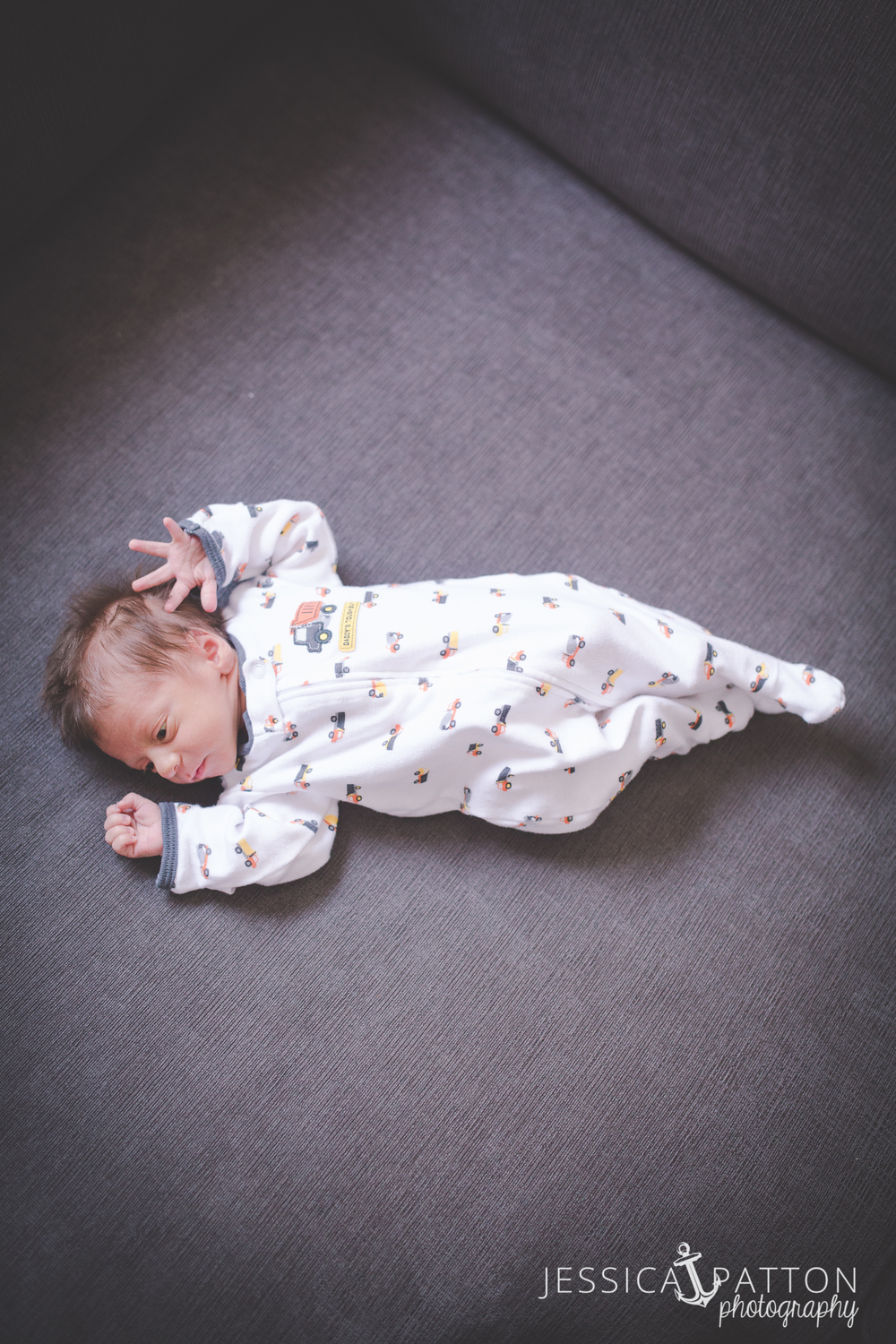 Baby Nathan Shaulsky - Newborn Family Session