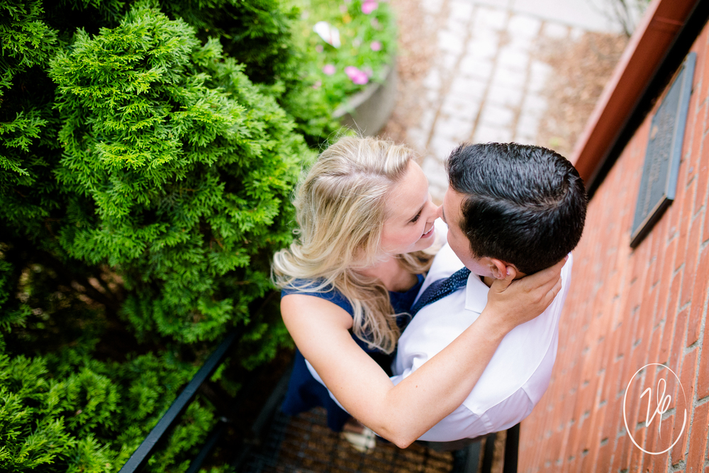 Nick + Barbara | Uptown Maumee Engagement Session | Maumee, OH