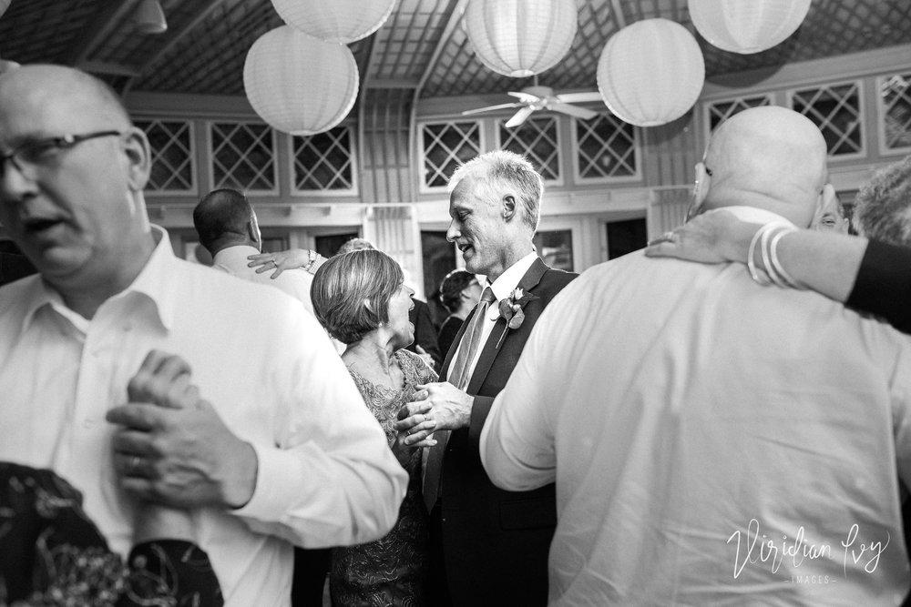 Parents of the bride.