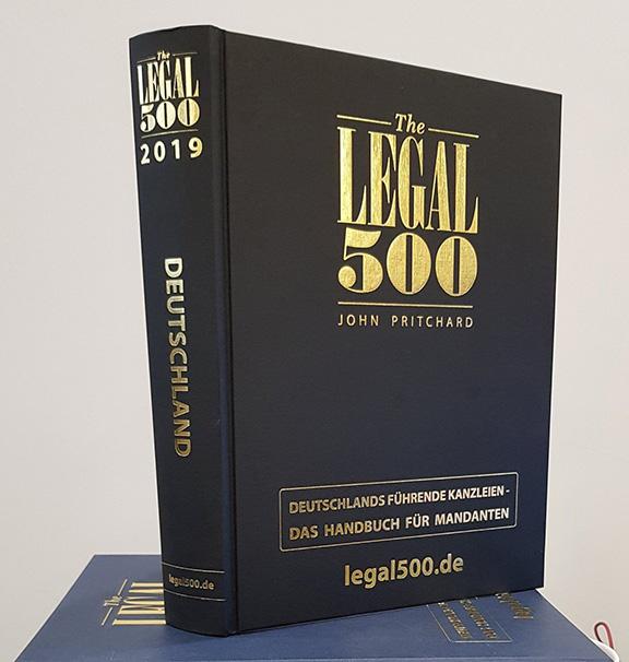 Quelle: Twitter Profil - The Legal 500