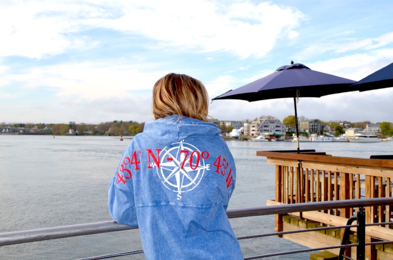 Tugboat Alley's newest hoodie for women!