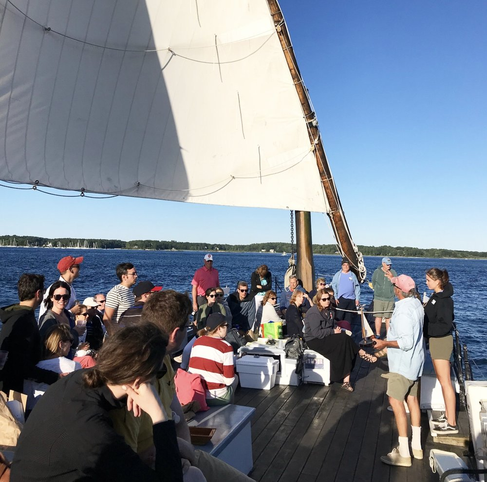 - Mid-way through the sail, the crew talked to us about the history of The Gundalow, and the surrounding environment. As a history enthusiast, I was eager to learn more about a vessel I pass almost every day.