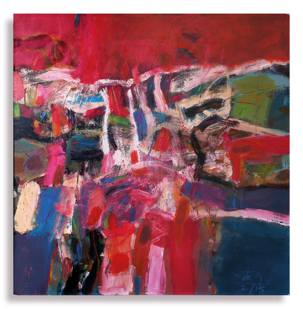 Terrace _ Terrain, 2015, Oil on Canvas, 76cm x 76cm.jpg