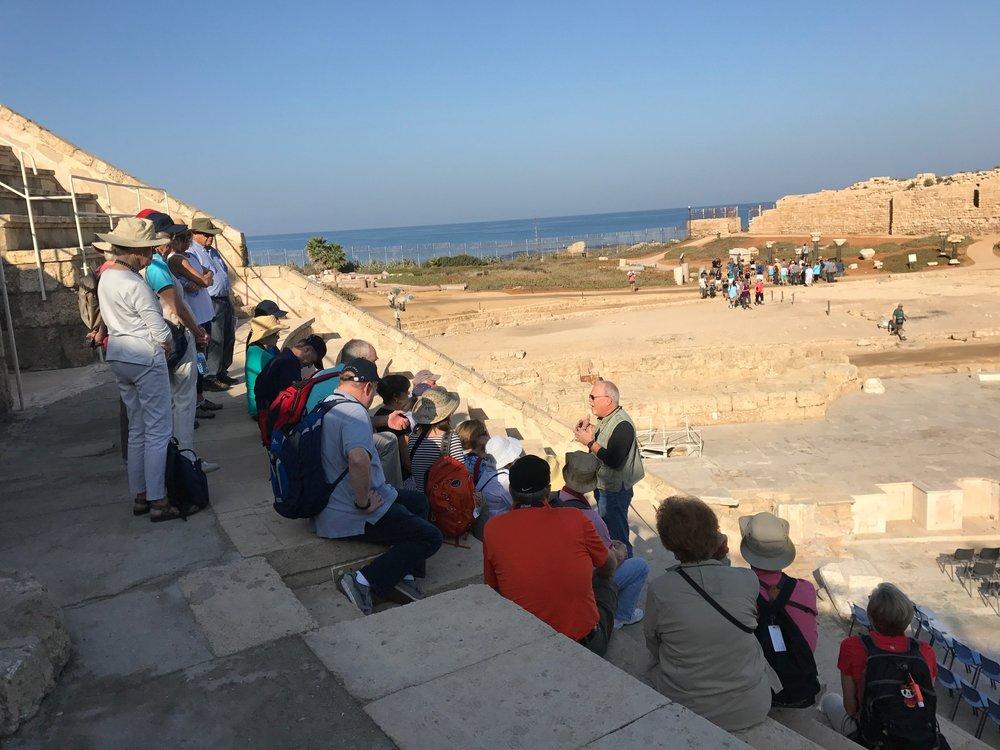 In Herod's Ampitheater