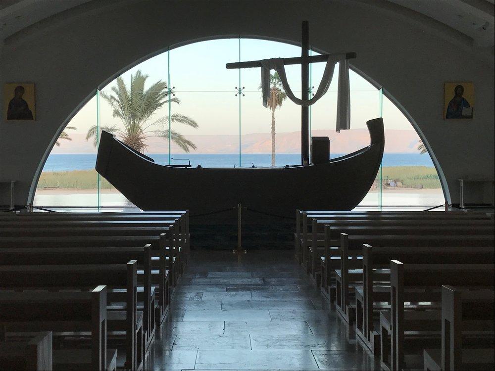 Mary's Chapel in Magdala