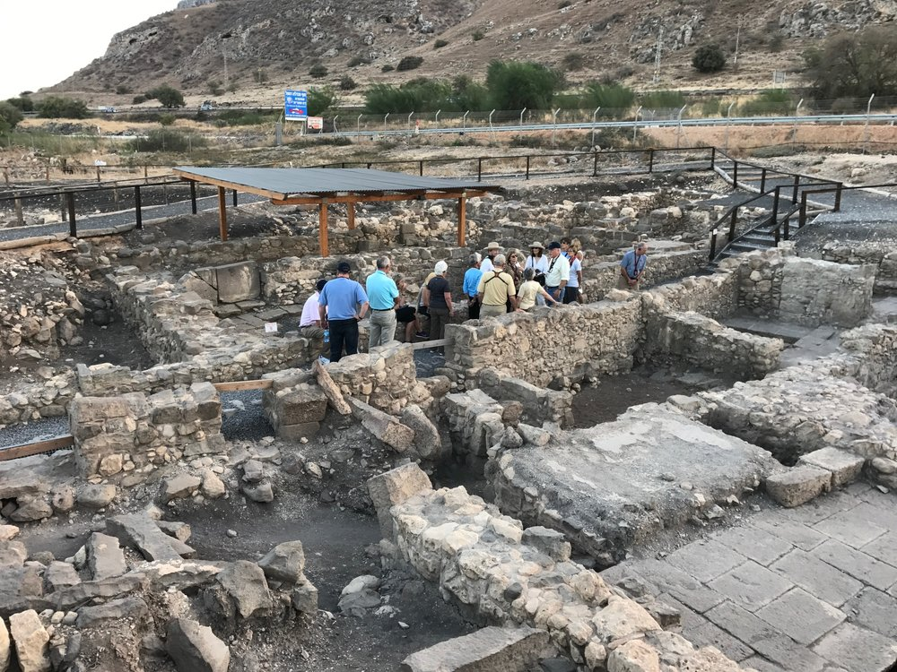 The excavations at Magdala