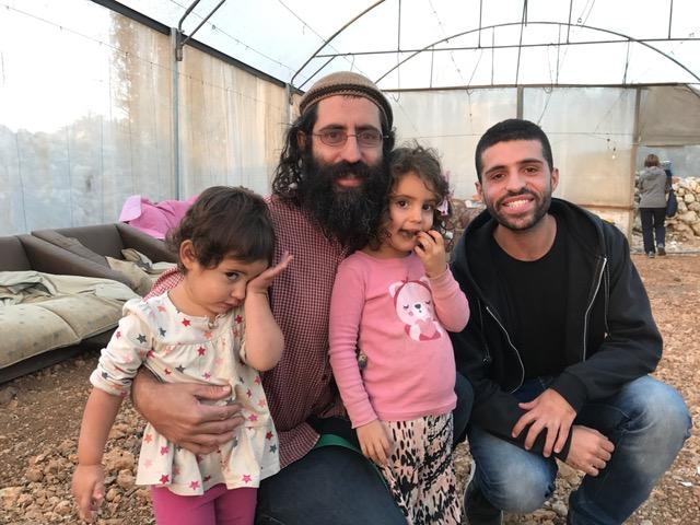 Shaul (his children) & Noor
