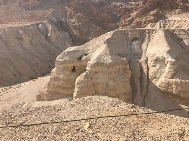 Where Scrolls were found in Qumran