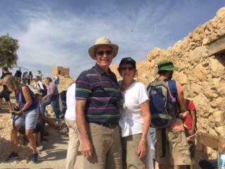 John & Vonnie Held on Masada