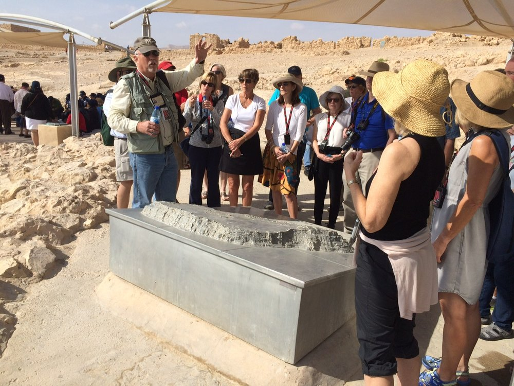 Viewing the Model on Masada