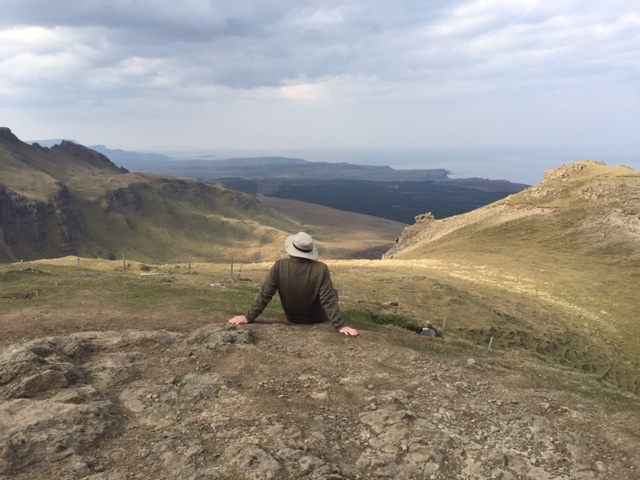 Overlooking the Trotternish Peninsula