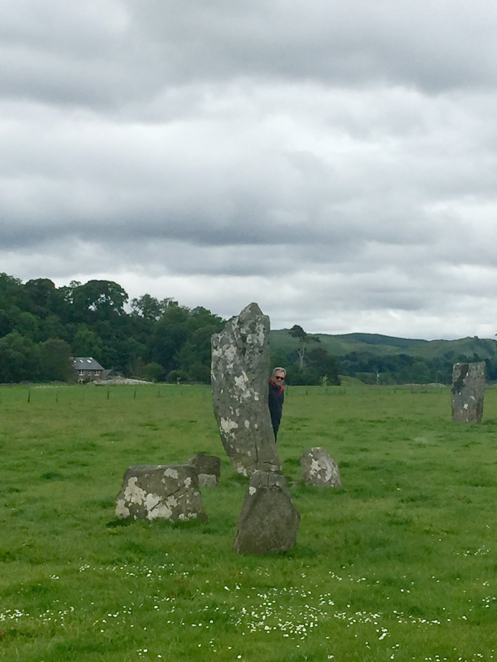 Standing among the Stones at Kilmartin