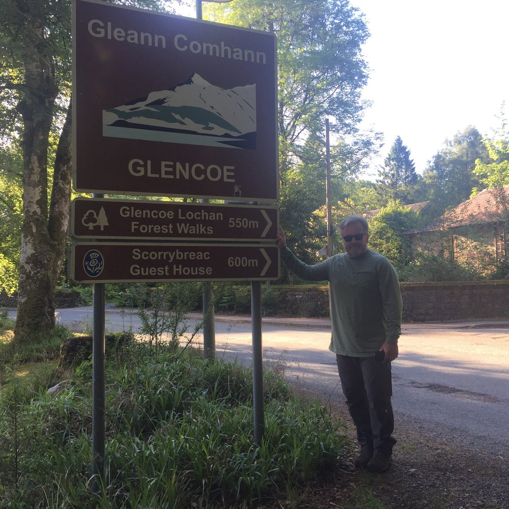 Proof of our Visit to Glencoe!