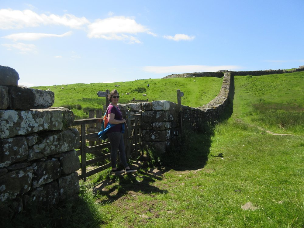 Hadrian's Wall:  A relic of the past not a template for the present.