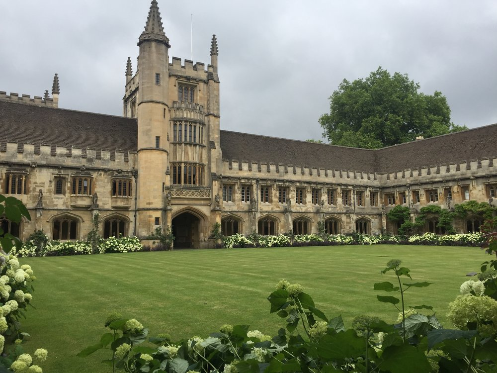 Magdalene College in Oxford where Tony studied...and C.S. Lewis taught