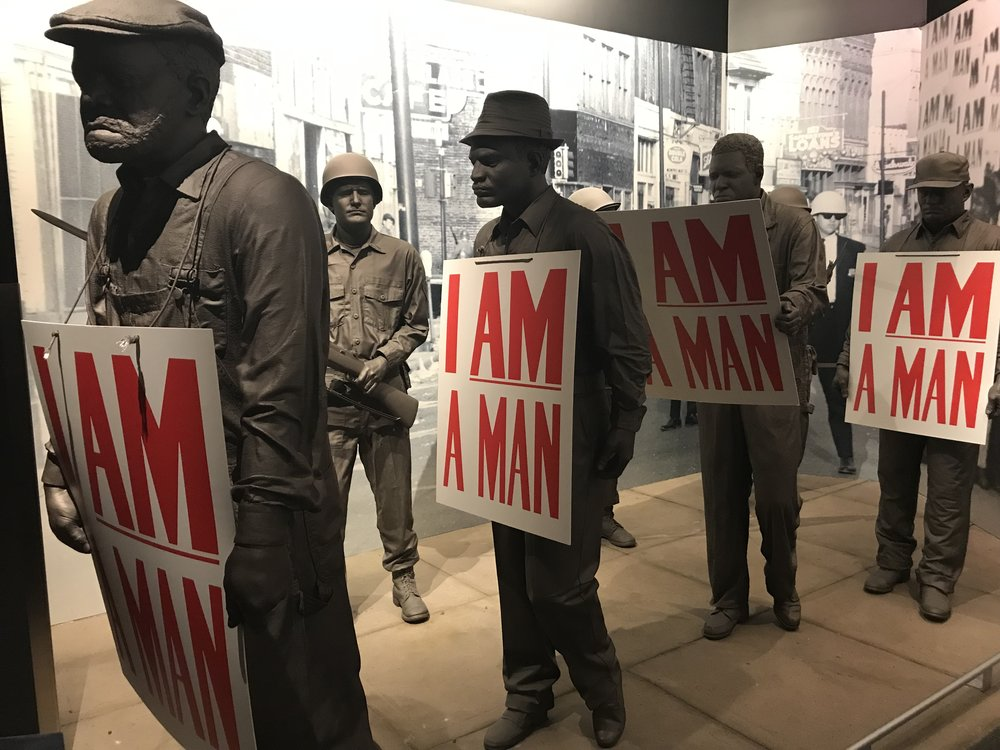 From the Civil Rights Museum in Memphis (sent to me by Howard Conant)