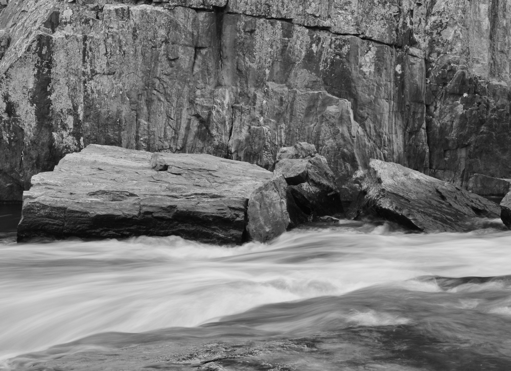Rock and Water on the Eau Claire River
