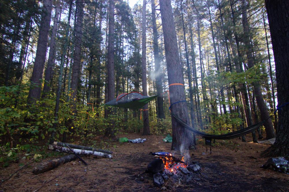 The campsite was great, felt comfy.