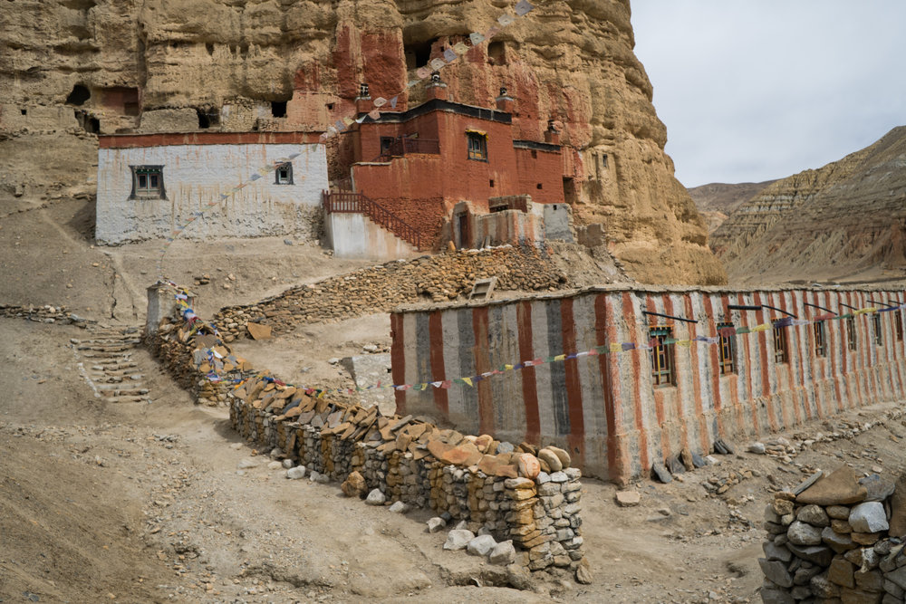 11 Mustang Nyphu Gompa Landscape