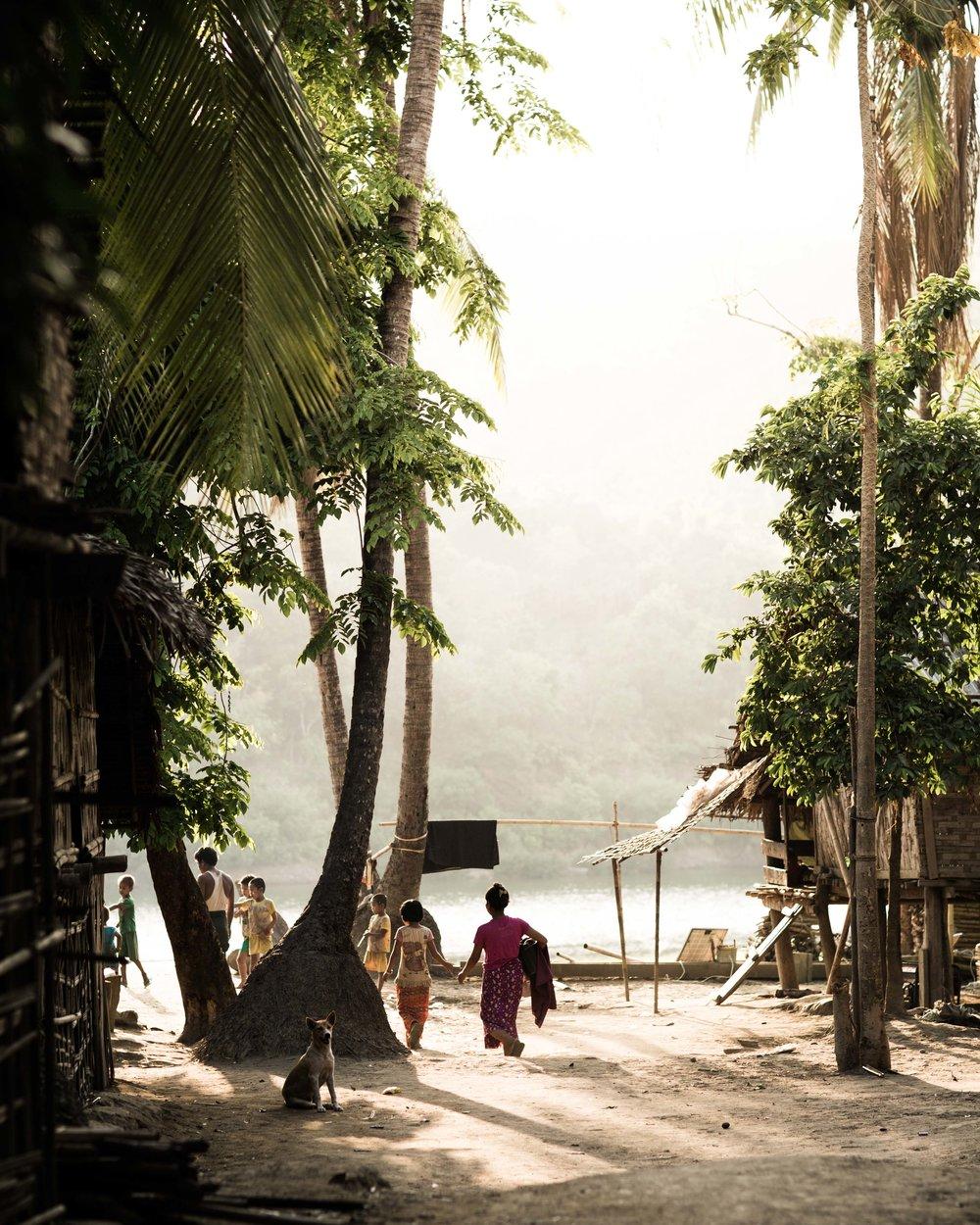 Chin state village myanmar rakhine