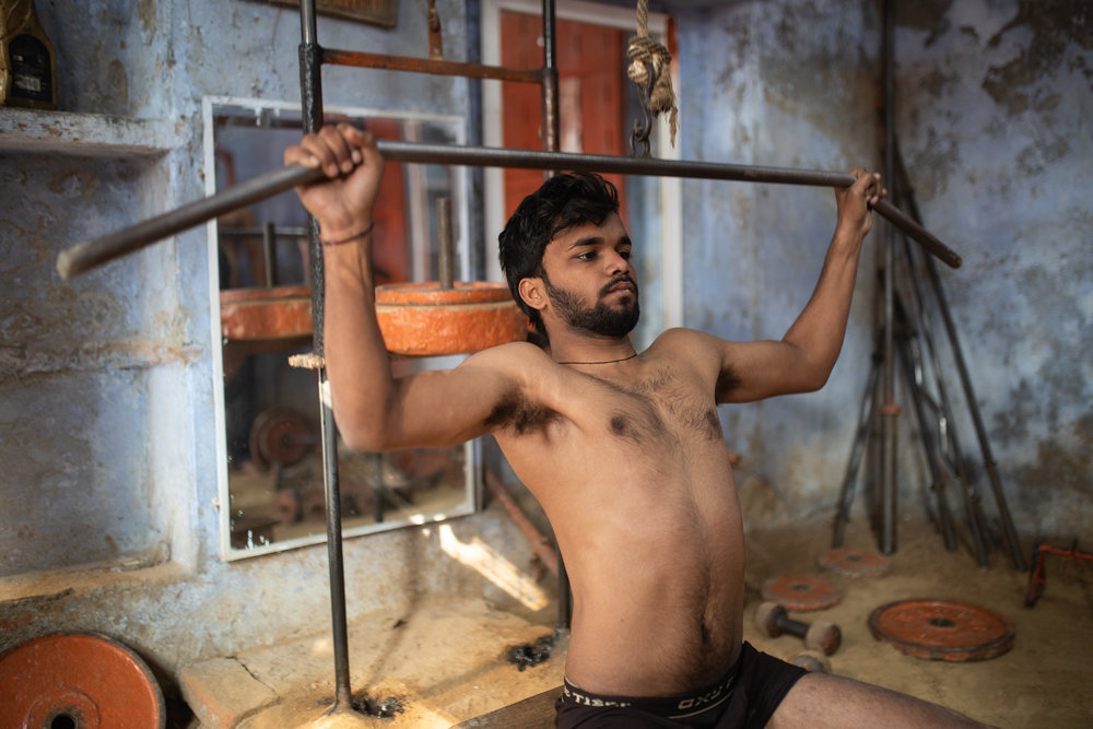 Kushti Wrestling Gym Varanasi India Documentary 2