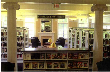New Hartford Memorial Library, New Hartford, CT_ref desk.jpg