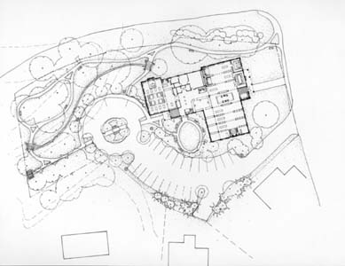 New Hartford Memorial Library, New Hartford, CT_Site Plan.jpg