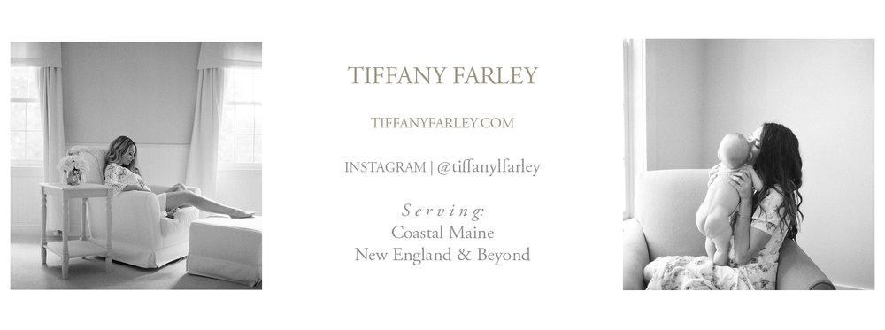 Maine Maternity and Newborn Photographer Tiffany Farley