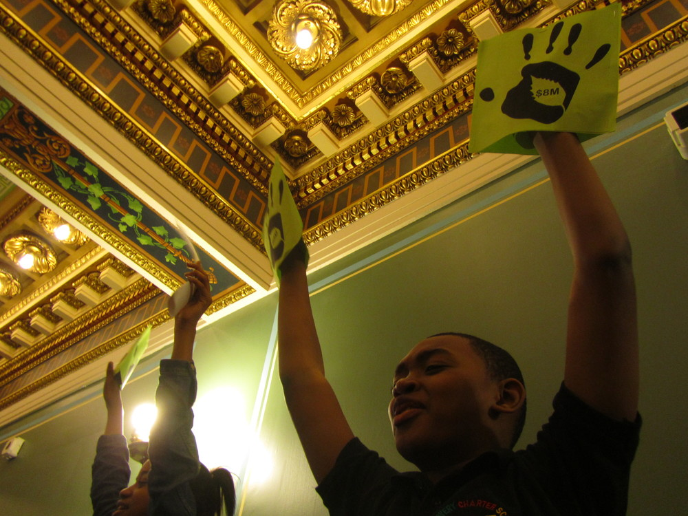 Discovery Charter students advocate for their parks