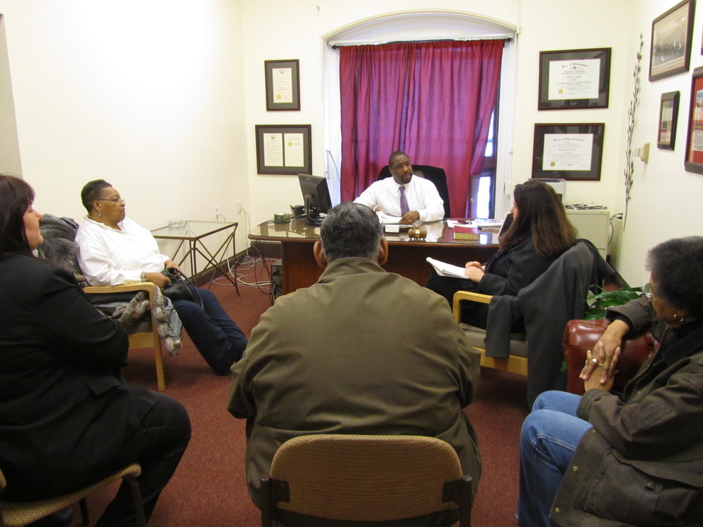 Parks Alliance meets with Councilman Kenyatta Johnson