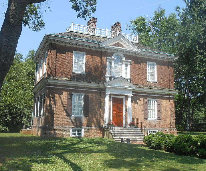 Woodford Mansion - Photo credit Wikimedia Commons