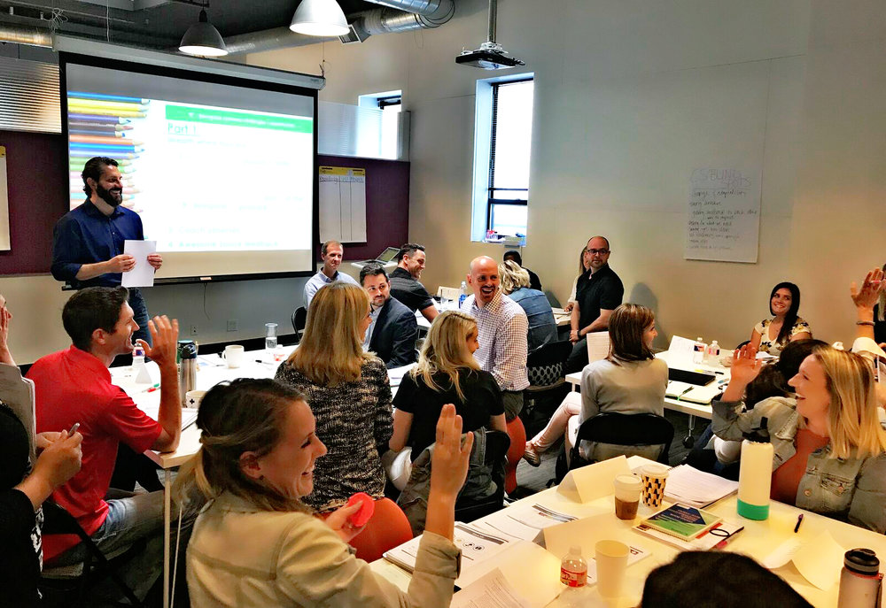 Habits at Work is a corporate training company based in Chicago. We offer customized training solutions to help sales teamsmaster high-performance work habits. -