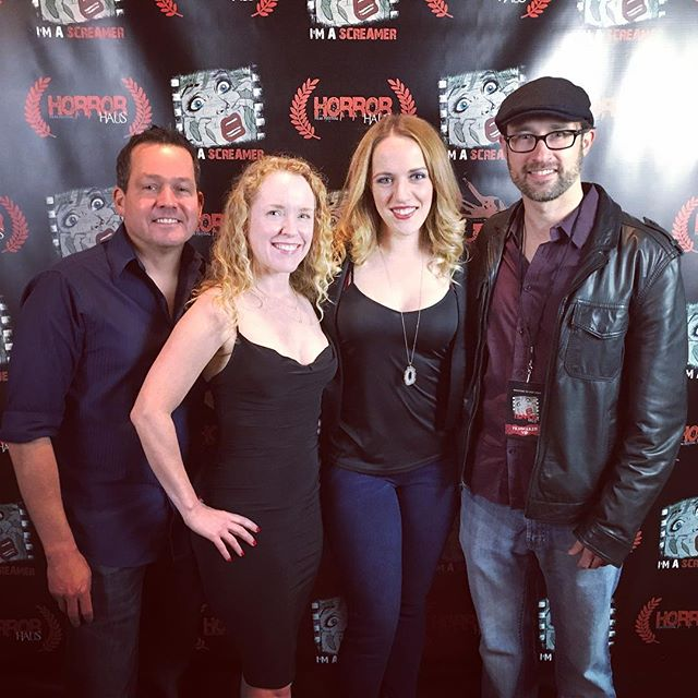 So stoked for this killer horror film fest opening tonight!! @horrorhausfilmfest #filmfest #horrorhausfilmfestival #FeedingTimeMovie #redcarpet #SunshineBoyProductions . . . . . . . . . . . . . . . . . . . #LettheArtistShine #ILoveLA #filmfestival #filmforever #filmmaker #horror #horrorfilm #horrorfilmmaker #horrormovies #ilovehorror #ilovemovies #indiefilm #instadaily #instagood  #movielover #moviemakers #photooftheday #producer #producerlife #producers  #supportindiefilm #womeninfilm #womeninhorror #womeninmedia #womenproducers