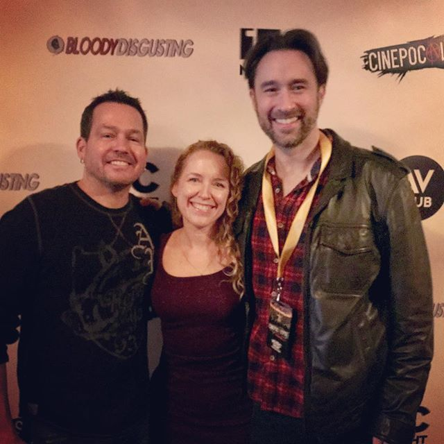 Such a killer time @cinepocalypse!! Can't wait for next year!! #filmfest #FeedingTimeMovie #redcarpet #cinepocalypse #SunshineBoyProductions . . . . . . . . . . . . . . . . . . . #LettheArtistShine #ILoveLA #filmfestival #filmforever #filmmaker #horror #horrorfilm #horrorfilmmaker #horrormovies #ilovehorror #ilovemovies #indiefilm #instadaily #instagood  #movielover #moviemakers #photooftheday #producer #producerlife #producers  #supportindiefilm #womeninfilm #womeninhorror #womeninmedia #womenproducers