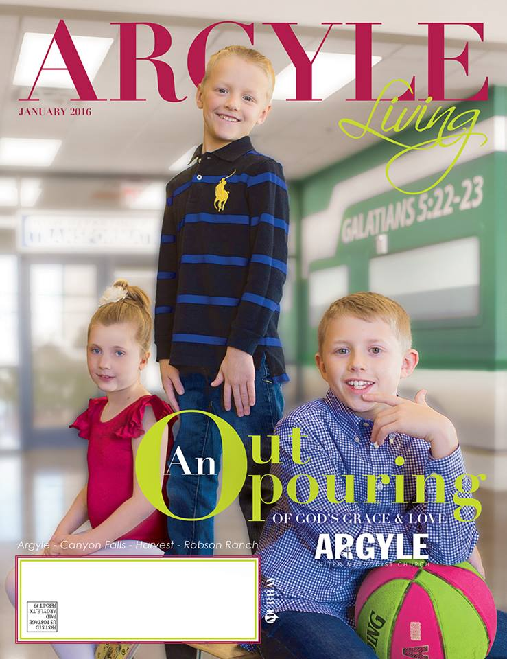 Click here to check out the Argyle Living article about Outpouring!