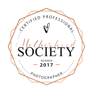 Motherhood Society Certified Professional Photographer