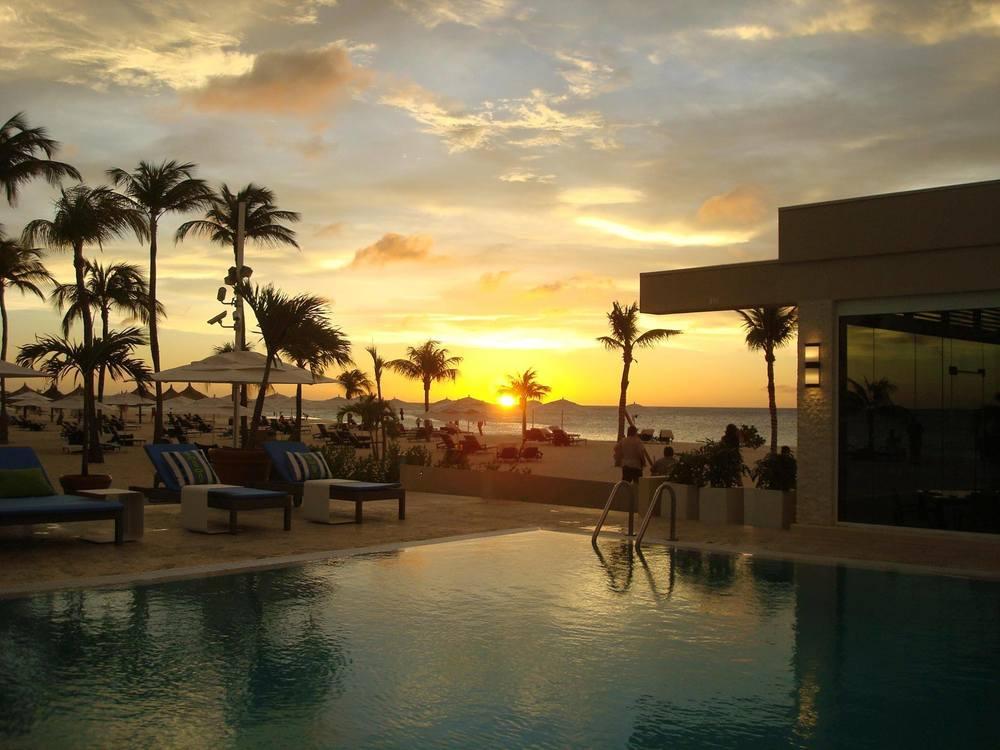 One of our favorite resorts, Bucuti in Aruba.
