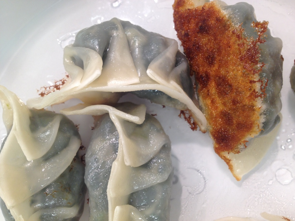 Pan-Fried Vegetarian Dumplings