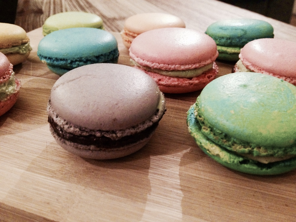My macarons.  Created at La Cusine Paris