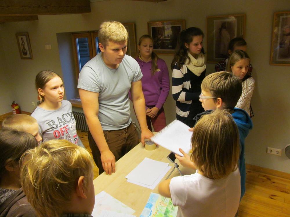 Animation Workshop held at Ventspils Library  Client - Ventspils Library & Ventspils Municipality  Country - Ventspils, Latvia