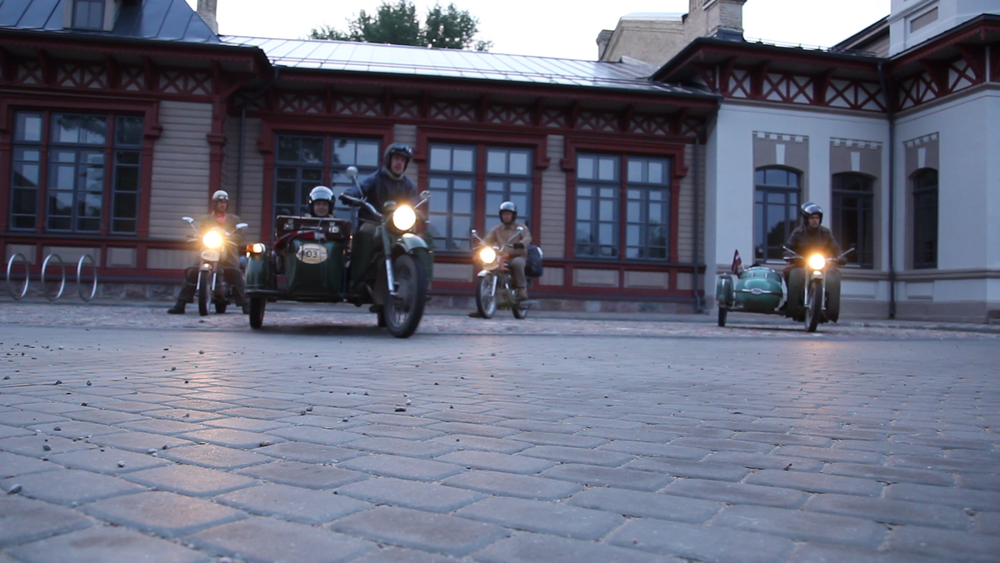 RetroTurists Motorcycle Rally  Client - Ventspils Moto Vikingi  Country - Latvia