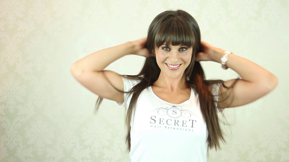 Online instructional videos  Client - Secret Hair Extensions  Country - United Kingdom