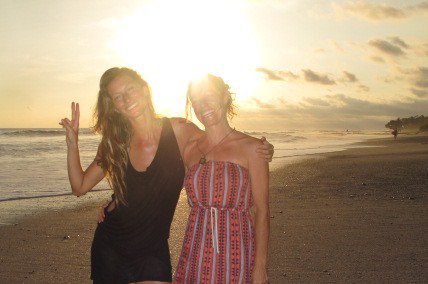 Gisele & Joanne in Costa Rica (from  The Healing Cuisine )