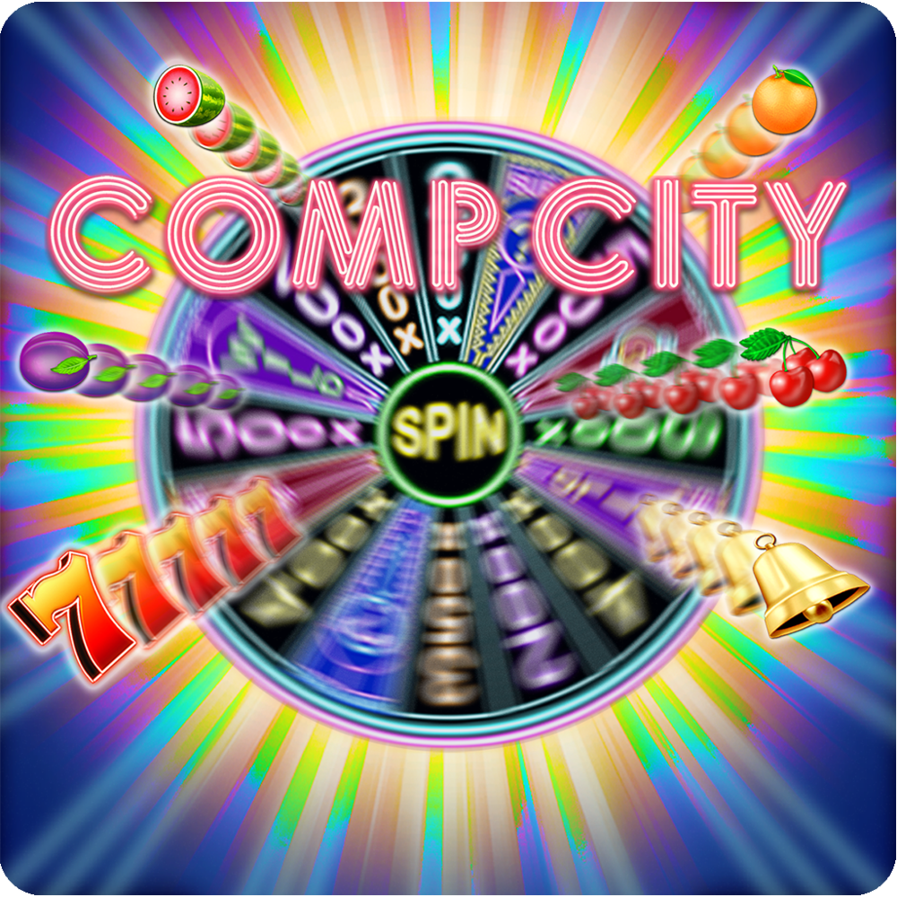 Comp City Slots - With Comp City Slots you can have the excitement of Las Vegas-style casino slots with awesome bonus games. PLUS, you can collect Comp Tickets for real PRIZES! Collect Comp Tickets with purchases of Coin Packs. Comp Tickets may be REDEEMED for great prizes such as Las Vegas Advisor Memberships, casino books, strategy cards, tutorial software and instructional videos.