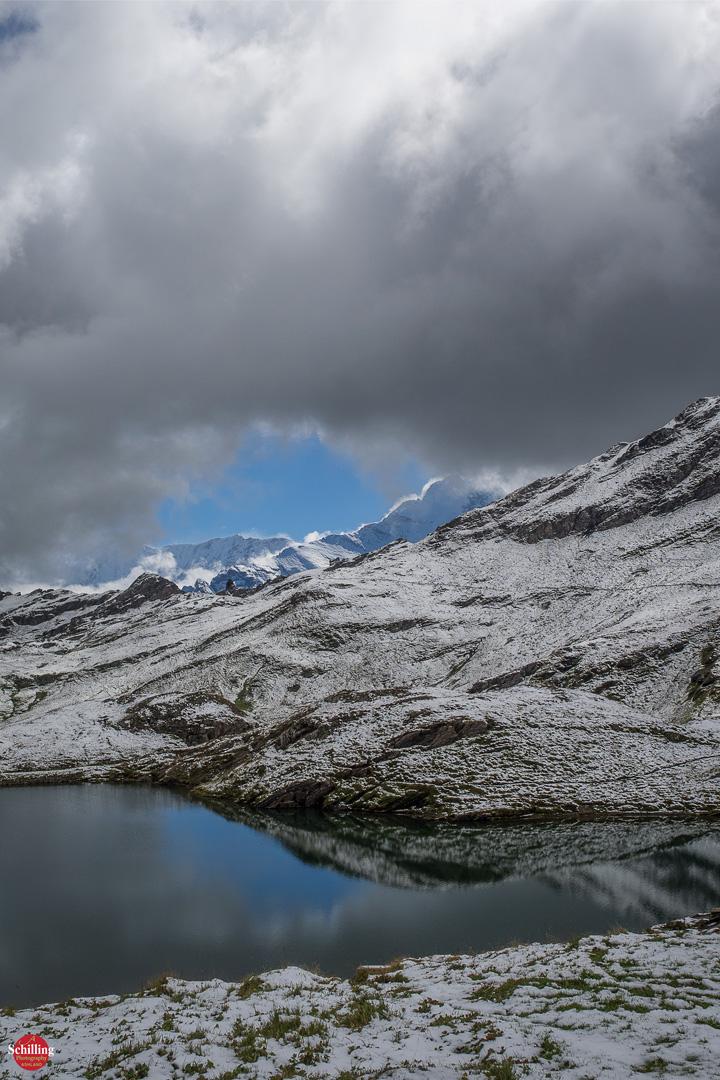 The Eiger Beyond Bachalpsee