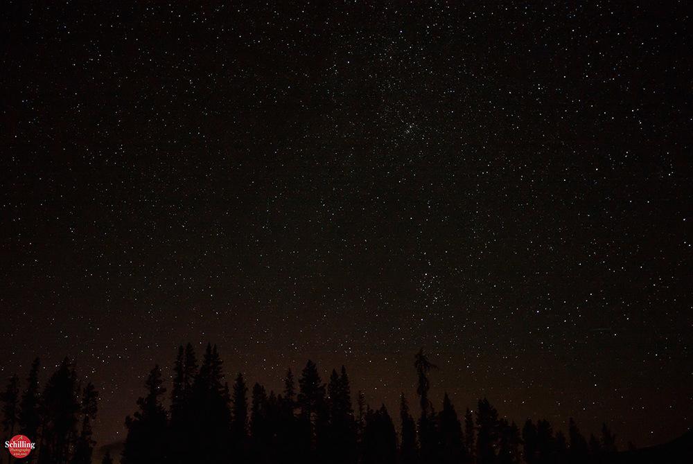 Night Sky Near Diamond Lake