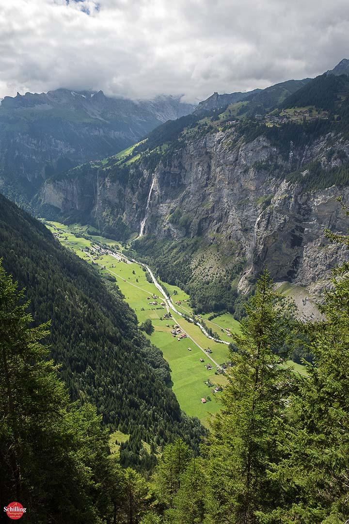 Above Der Weisse Lutschine