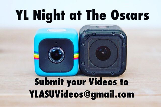 There is still time to submit your videos for YoungLife's Night at The Oscars. You can send your videos to YLASUVideos@gmail.com. We want to see you and your friends show off your talents and character on the big screen. If you need help making a video or any questions about the event please feel free to ask a student leader or leave a comment below.
