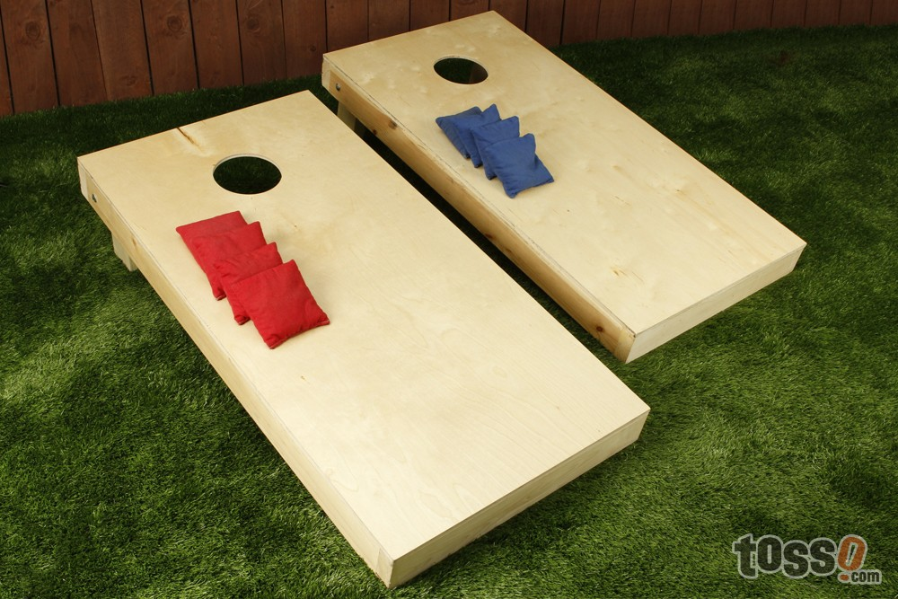 Regulation size cornhole sets