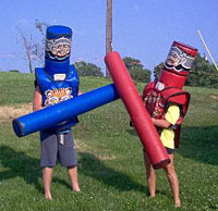"""Off With Your Head"" Jousting"